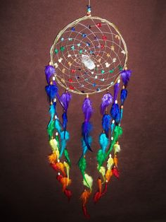 #dreamcatcher #rainbow #love I will make this
