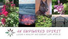 Spotlight on An Empowered Spirit's Logo, Header and Redesign