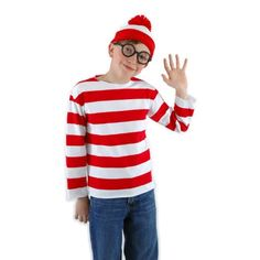 Elope Where's Waldo Costume Kit Youth, Large/X-Large >>> Find out more about the great product at the image link.