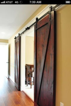 Dining room doors