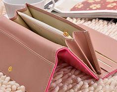 Zeagoo-Zeagoo portefeuille femme en cuir Longue touche de bourse de portefeuille…