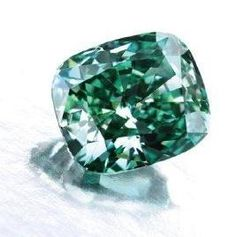 Green Diamonds- Rare and Beautiful  Natural green diamonds are extremely rare and expensive. As a matter of fact, natural green diamonds with no other secondary hues or modifiers are so rare that most jewelers have never seen one, and will never own one.