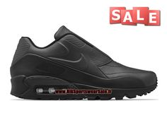 NikeLab x Sacai Air Max 90 GS - Chaussures Nike Sportswear Pas Cher Pour Femme/Enfant Noir 804550-005