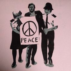 """Jeremy Corbyn Peace T-shirt (printed both sides) Says on the back """" you cannot go in and bomb your way to peace"""". Love Is A Verb, Political Posters, Give Peace A Chance, Smash The Patriarchy, Jeremy Corbyn, Earth Angels, World Peace, Queen"""