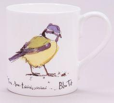 (MF14) Madeleine Floyd Blue Tit  Mug