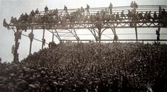 Ninian Park, Cardiff -anything for a good view.