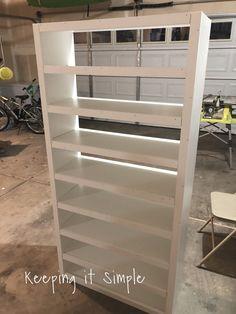Shoe Shelf Diy, Diy Shoe Storage, Shoe Shelves, Storage Shelves, Floating Shelves, Bedroom Closet Design, Room Ideas Bedroom, Shoe Storage Solutions, Shelf Organizer