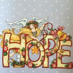 Mary Engelbreit Magnet-Hope