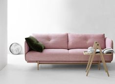 The Original Hold 2.5 Seater sofa in Blush Pink - Curious Grace