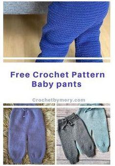 Crochet Baby Clothes Boy, Crochet Baby Pants, Crochet Toddler, Quick Crochet, Crochet Bebe, Crochet For Boys, Baby Boy Knitting Patterns, Baby Clothes Patterns, Baby Patterns