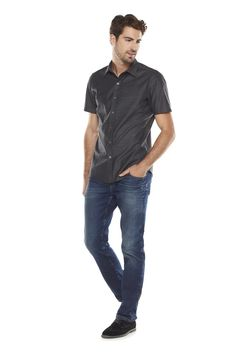 Short-sleeved #buttonups are great for fall layering. #Kohls