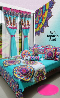 Different Types of Stage Decoration- and Its Growing Importance Hippy Bedroom, Girls Bedroom, Bedroom Decor, Duvet Bedding, Bedding Sets, Window Curtain Designs, Bed Cover Design, Boho Room, Stage Decorations