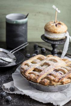 Ein klitzeklein(es) Blog: Blaubeer-Apfel-Pie