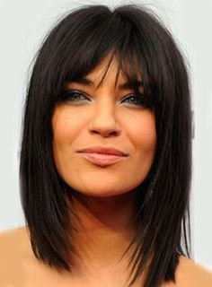 Medium Hairstyles With Bangs Medium Hairstyles With Bangs And Layers  Best Medium Hairstyles For