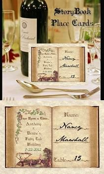 story book wedding