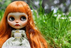 https://flic.kr/p/GfwtKt | JUNE | Meet JUNE, my new custom doll.  As I wanted to create a natural redhair I used Sadie Sprinkle base doll as she has very pale skin with Les Jeunette scalp. She has delicate freckles all over her face and full juicy lips. She also has teeth and of course graffiti eyelids)) She will be FA soon ^_^
