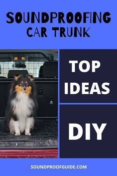 These are some of the best ideas on how to soundproof a car trunk. Car trunks can be noisy, especially in older cars but these tips will make trunk quieter.