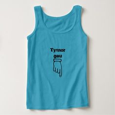 Tymor gau - Season closed Tank Top - tap, personalize, buy right now!