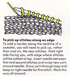 Knitting – Reading Patterns – Common Abbreviations – Grandmother's Pattern Book