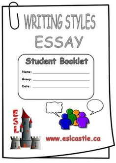 parts of an essay handout