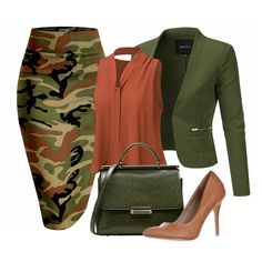 Best Outfit Styles For Women - Fashion Trends Camo Fashion, Work Fashion, Fashion Outfits, Womens Fashion, Fashion Trends, 80s Fashion, Fashion Bloggers, Skirt Fashion, Fashion Beauty