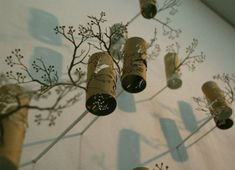 ECO ART: Toilet Paper Roll Cut-Outs