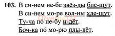 ГДЗ 103 - Русский язык 1 класс Рамзаева