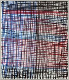 Louise Bourgeois Be Calme - 2004 a suite of 31 double-sided drawings mixed media on paper. Louise Bourgeois, Textiles, Textile Prints, Textures Patterns, Print Patterns, Gelli Printing, Artist Sketchbook, American Artists, Paper Art