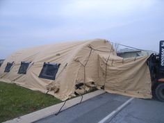 Air Beam Tent available on GovLiquidation!