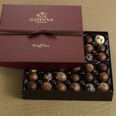 Godiva Chocolate Truffles    ...sinfully good...