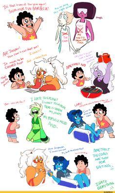 SU comics,Steven universe,фэндомы,Garnet (SU),SU Персонажи,Steven (SU),Lapis Lazuli,Peridot,Amethyst (SU),Pearl (SU),Jasper