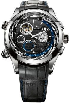 Zenith Class Traveller Multicity Alarm Chronograph #luxurywatches