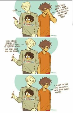 I will go down with my ship, singing serenades and playing romantic tunes with violin.< I don't ship it but this is cute(I need my Scorbus!)<<<I ship it but I still need Scorbus Harry Potter Comics, Harry Draco, Draco Harry Potter, Harry Potter Ships, Harry Potter Universal, Draco Malfoy, Drarry Fanart, Kevedd, Fantastic Beasts