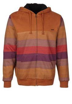 HUNTER - Bluza rozpinana - brązowy