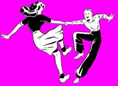 girlinthejitterbugdress.com digs this jive. 1940s Shag, lindy hop look clip art! Want to read about 1940s swing dance and more Check out my link!