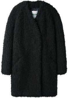 Kenzo / Faux Fur Coat