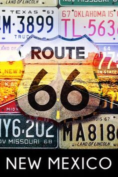 Route 66 Road Trip, Highway Road, License Plate Art, Historic Route 66, Stock Art, Vintage Diy, Vintage Metal, Vintage Cars, Arte Pop