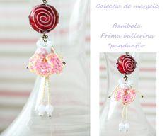 Bambola Prima Ballerina by Colectia de margele  Please visit https://www.facebook.com/pages/Colectia-de-margele/1392796917646011