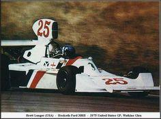 Brett Lunger Hesketh-Ford 308B US GP, Watkins Glen '75