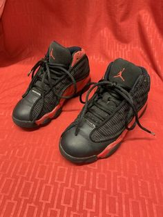 premium selection 09559 1493b Nike Air Jordan Retro 13 XIII Black True Red Bred 414575-004 Size 13c   fashion  clothing  shoes  accessories  kidsclothingshoesaccs  boysshoes  (ebay link)