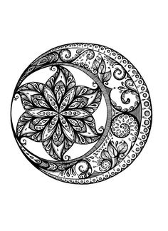 Mandala mandala в 2019 г. mandala tattoo, tattoos и mandala coloring. Mandala Art, Mandala Design, Mandala Arm Tattoo, Moon Mandala, Mandalas Painting, Mandalas Drawing, Zentangle Drawings, Zentangle Patterns, Mandala Colour