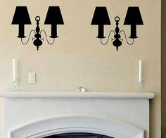 vinyl wall decal silhouette Set of Wall by WallDecalsAndQuotes, $12.00