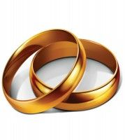 Wedding Rings Clip Art Golden Engagement Ring Photo