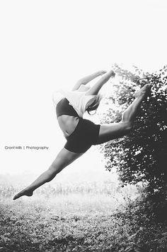 senior dance photography