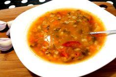 Ne pregatim pt postul Craciunului :D Romanian Food, Supe, Yummy Food, Ethnic Recipes, Foods, Food Food, Food Items, Delicious Food