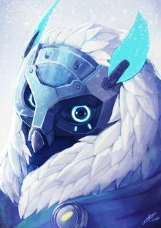 Snow Owl Ana , Maëva Godard on ArtStation at https://www.artstation.com/artwork/ow3Gm