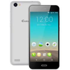 Gretel A7  (SILVER Android 6.0 Corning Gorilla Glass Screen Proximity Sensor) - $45.99 (coupon:   GRGretelA7) #Smartphone, #Gretel, #смартфон