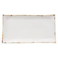 Bandeja Rett Branca Massa Branca - 22X42cm | Westwing - Casa & Decoração