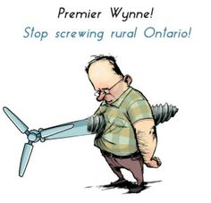 Liberal wind disaster shafted rural Ontario