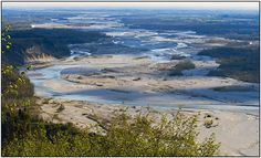 River Tagliamento in Ragogna, Udine, Friuli-Venezia Giulia_ Italy